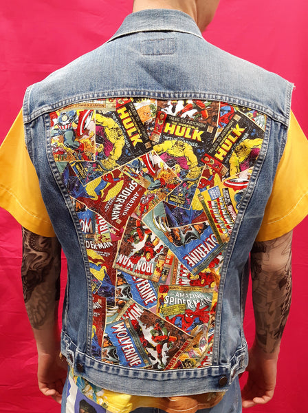 Vintage Levi's Custom Jacket Marvel