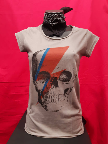 T-shirt SKULL BOWIE