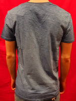 T-shirt Slub Pocket Denim Blue