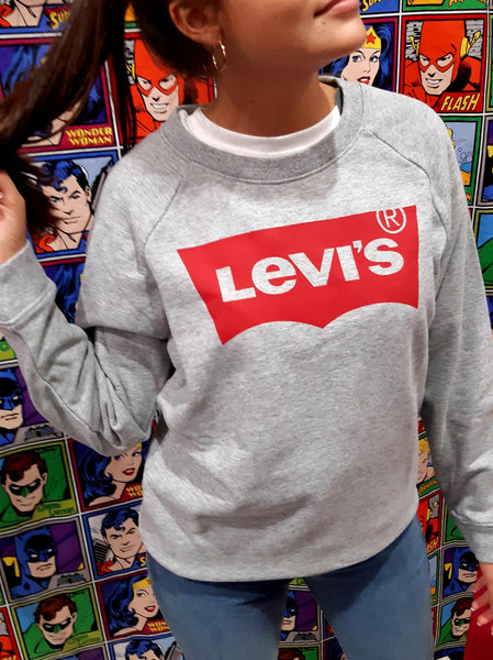 Levi's Relaxed Graphic Crew Woman 2971-70000