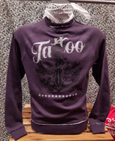 Felpa Girocollo Tattoo Purple