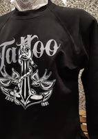 Felpa Girocollo Tattoo Black