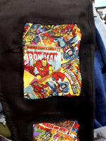 Custom Jeans Marvel // Tg. 44/46 (W 30/32)