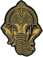 Varsity Jacket Ganesh (Dark grey- Sky Black)