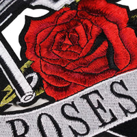 Varsity Jacket Guns n' Roses (Black-Dark Grey)