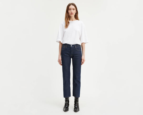 Levi's Woman Made & Crafted 501 C ORIGINALE cropped Straight