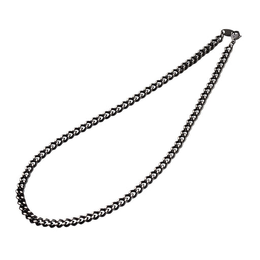 Titanium Chain Necklace Carbonized