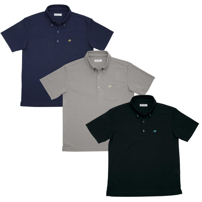 Raku Button Down Polo Shirt