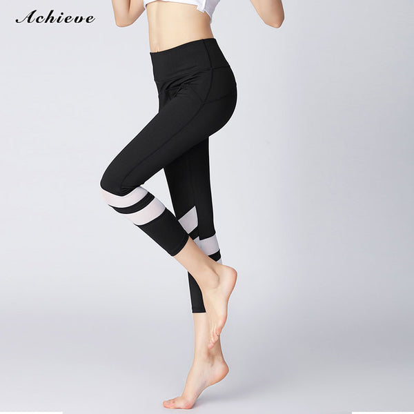 Yoga Pants Yoga Capris Workout Leggings for Fitness Riding Running
