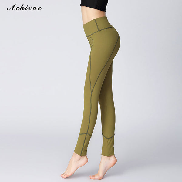 Yoga Pants, Women's Power Flex Yoga Pants Tummy Control Workout Yoga Capris Pants Leggings