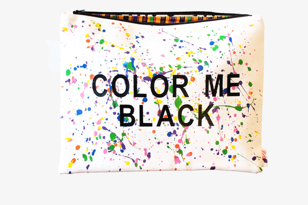 "Color Me Back ""Lois Mailou Jones"" Clutch"
