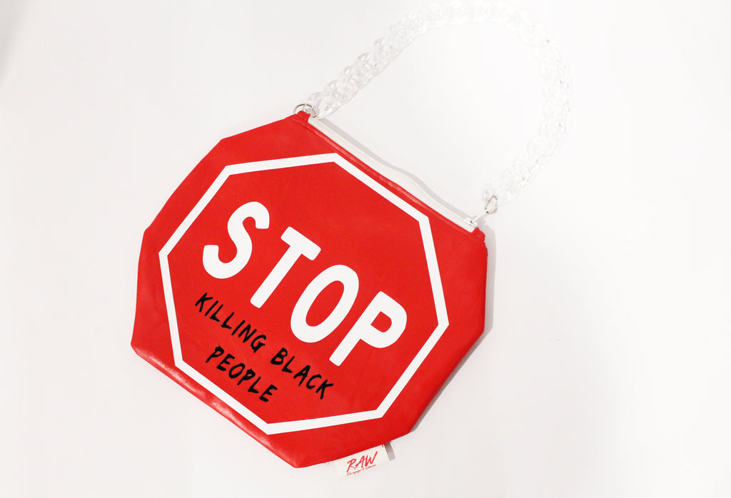 """Ida B Wells"" Stop Sign Purse"