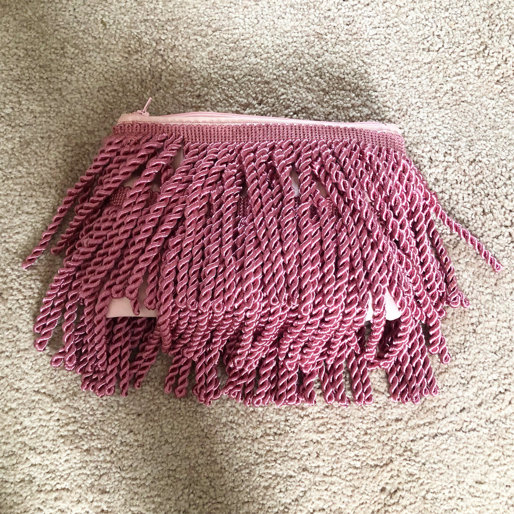 Small Bullion Rope Fringe Bag