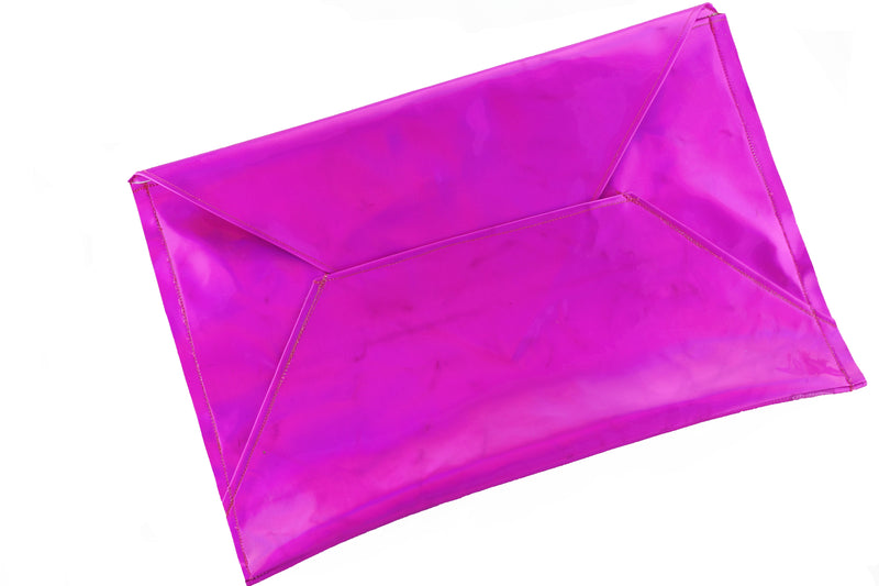 Diana Holographic Envelope Clutch