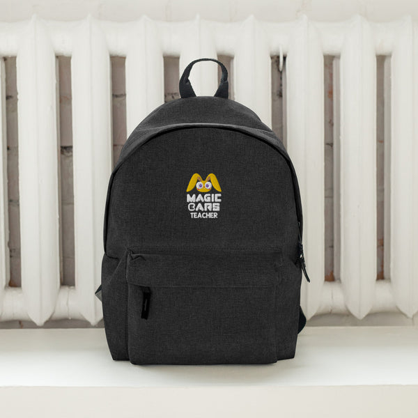 Magic Ears Teacher Embroidered Backpack