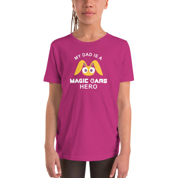 My Dad is a ME Hero Youth Shirt