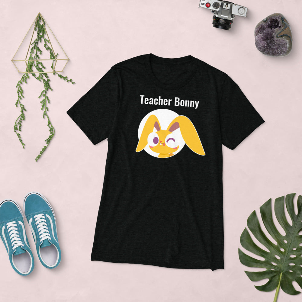 Winking Bonny Teacher Shirt (Personalized)