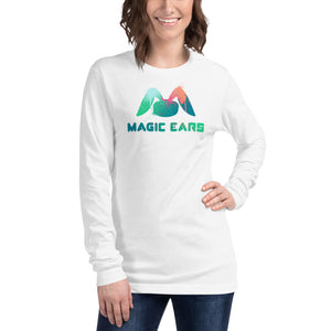 Magic Ears Paint Splatter Long-Sleeved Shirt