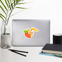 """Bonny Loves Carrots"" Sticker"