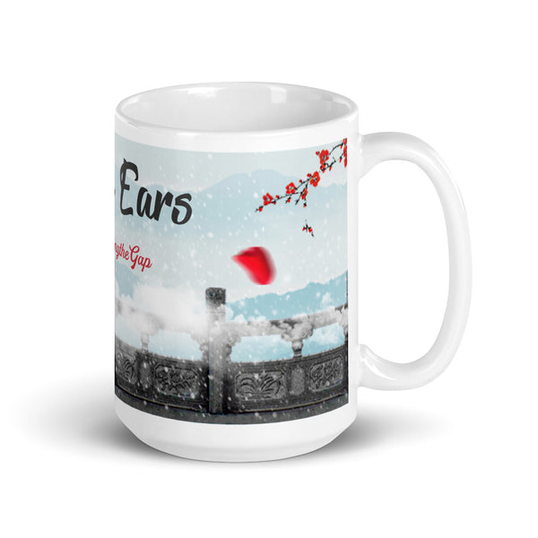 "Limited-Edition Chinese Painting ""Snow on the Bridge"" Mug"