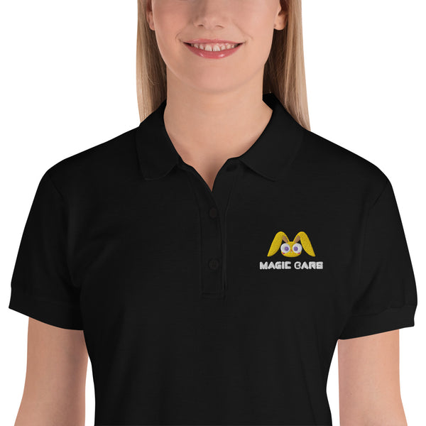 Magic Ears Women's Embroidered Polo Shirt
