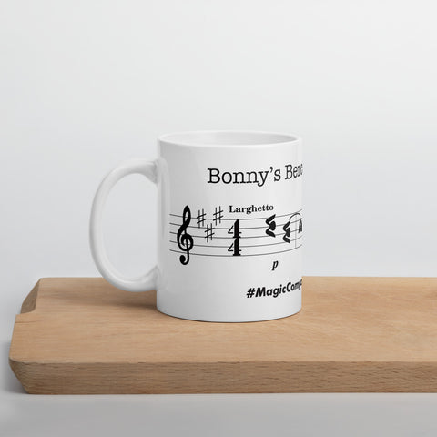 "Bonny's ""Berceuse in A major"" Mug"