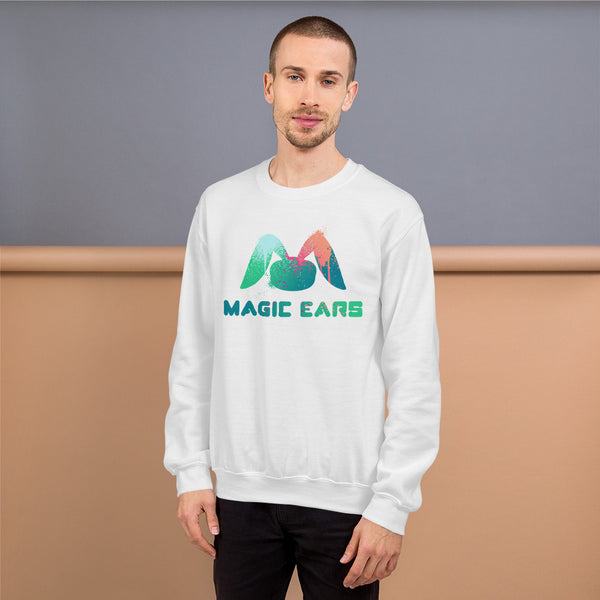 Magic Ears Paint Splatter Sweatshirt