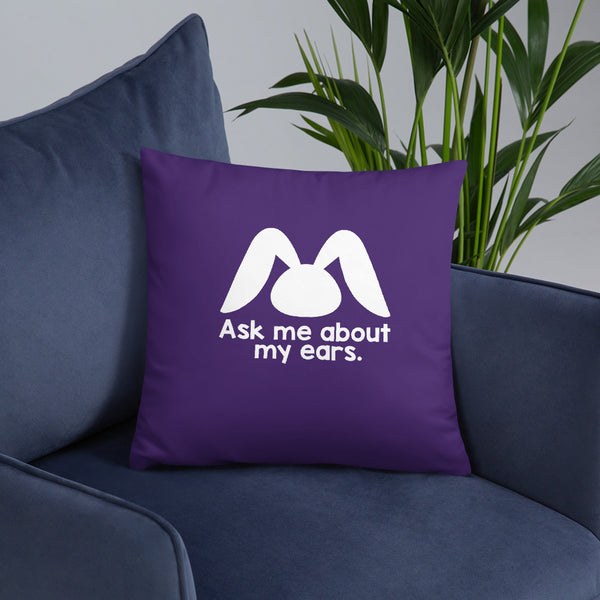 """Thankful for Magic Ears"" Pillow"