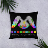 """Ready Player Bonny"" Pillow"