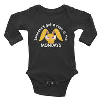 """Case of the Mondays"" Infant Long Sleeve Bodysuit"