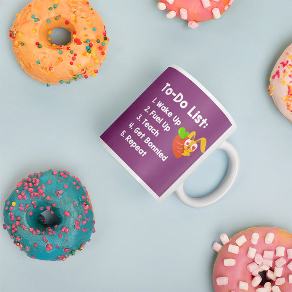 Magic Ears To-Do List Coffee Mug