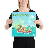 Limited-Edition Dragon Boat Festival Poster