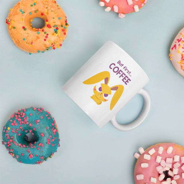 "Magic Ears ""But First... Coffee"" Mug"