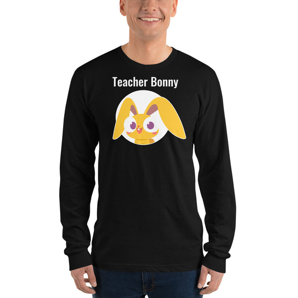 Magic Ears Bonny Teacher Long-Sleeve Shirt (Personalized)
