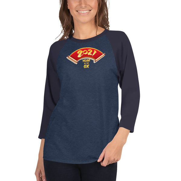 Year of the Ox Raglan Unisex Shirt