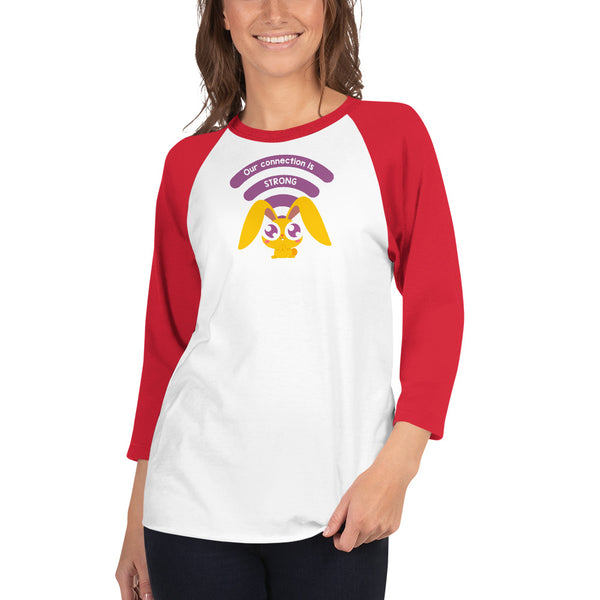 "Limited-Edition Teacher Saby ""Connected Bonny"" Raglan Shirt"