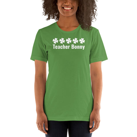 Lucky Teacher Shirt (personalized)
