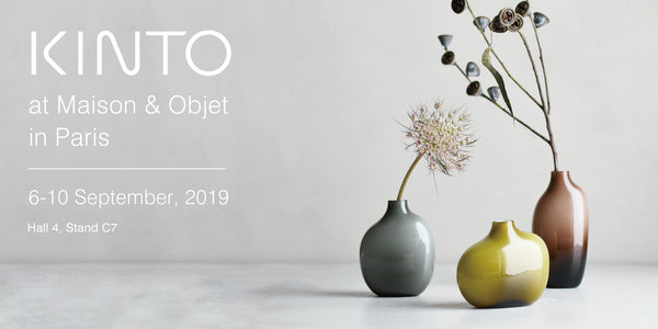 KINTO Journal Article KINTO at Maison & Objet in Paris