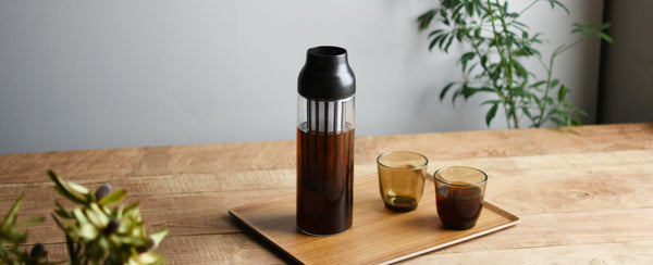 KINTO Journal Article Carafe for Intuitive Pouring in All Directions - CAPSULE -