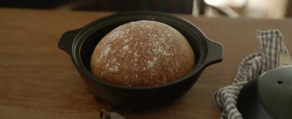 KINTO Journal Article [KAKOMI recipe] Clay Pot Bread