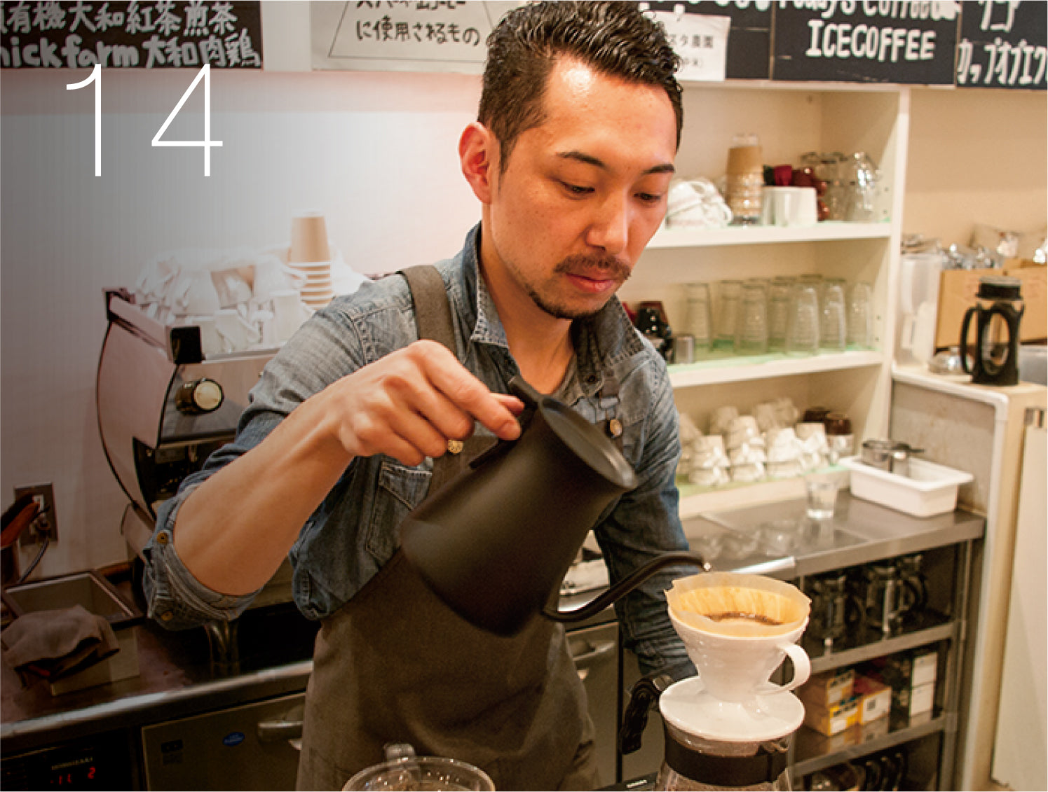 Koji Ida | ROKUMEI COFFEE CO.