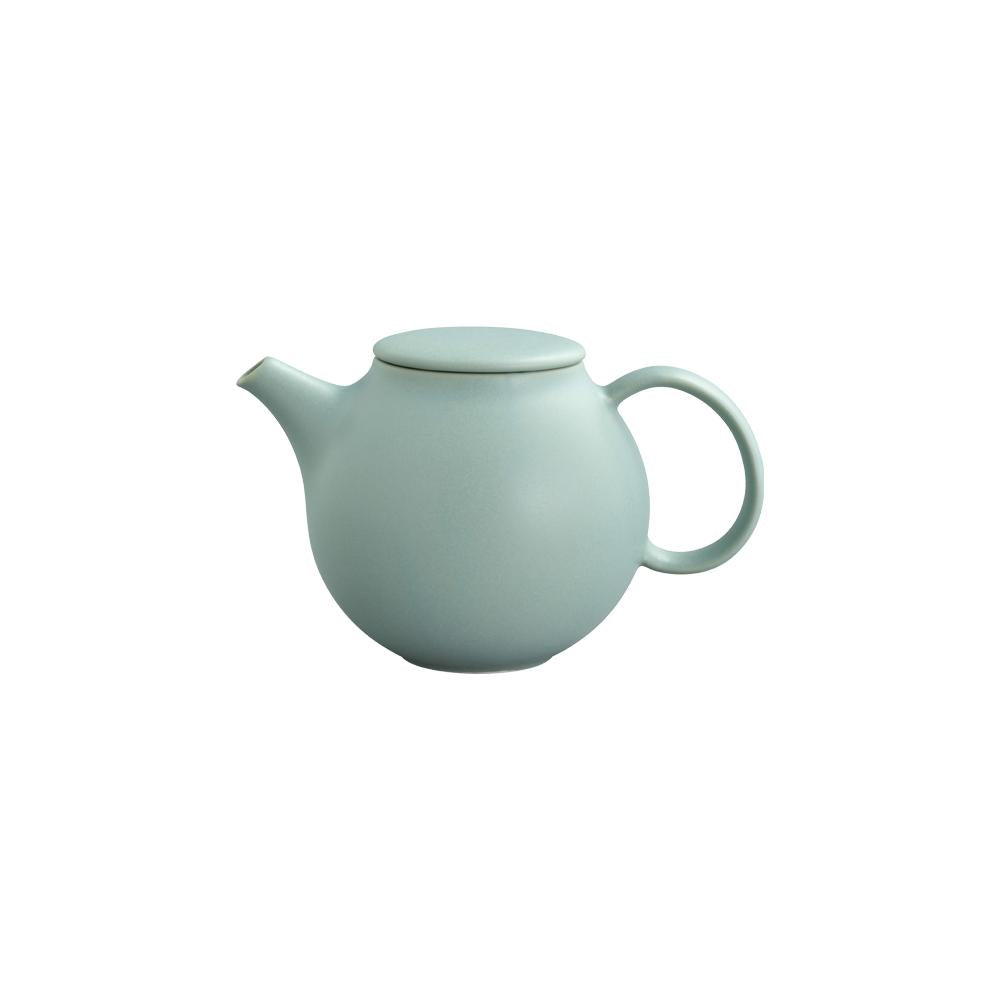 KINTO PEBBLE TEAPOT 500ML  MOSS GREEN