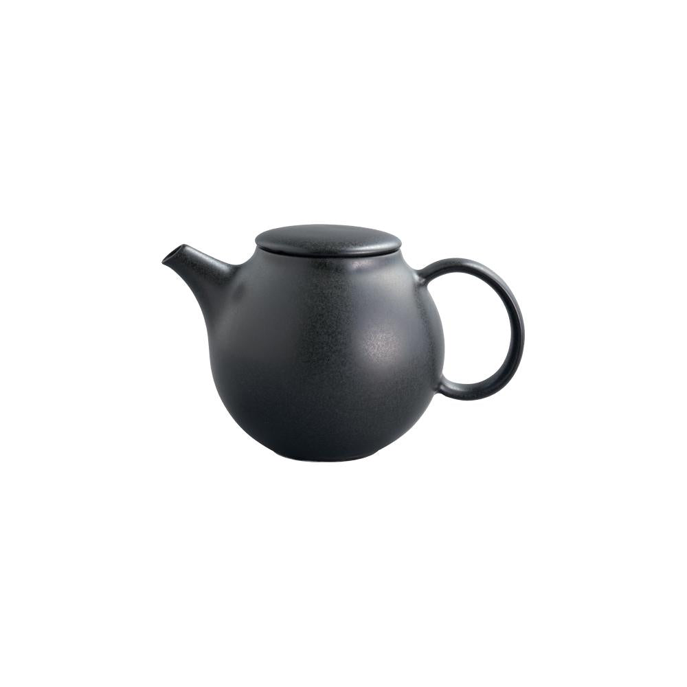KINTO PEBBLE TEAPOT 500ML  BLACK