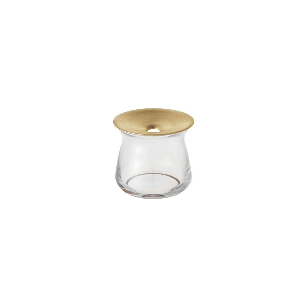 KINTO LUNA VASE 80X70MM  CLEAR