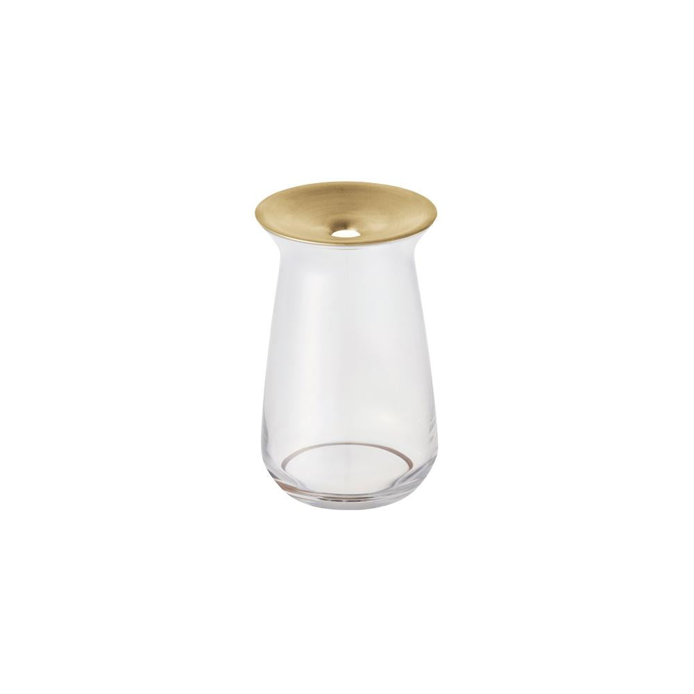 KINTO LUNA VASE 80X130MM  CLEAR