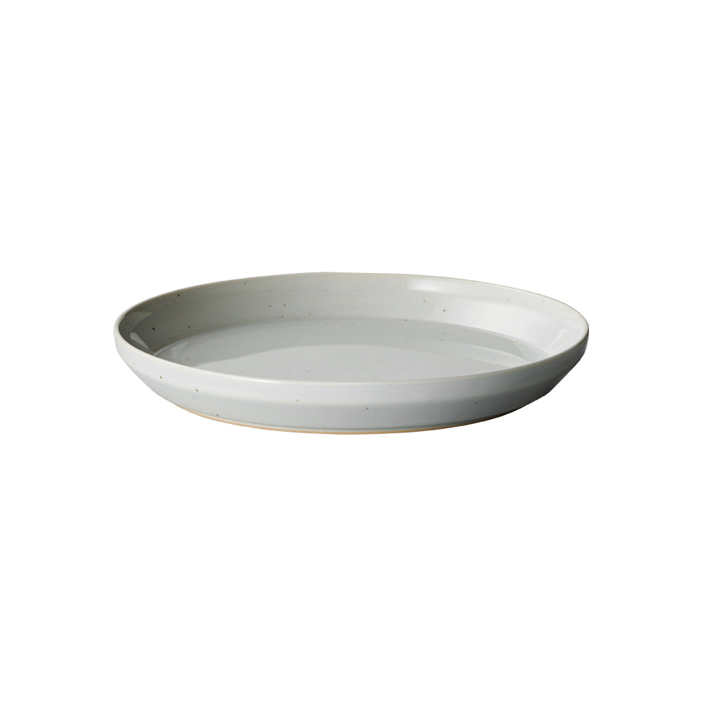 KINTO RIM PLATE 205MM  EARTH GRAY