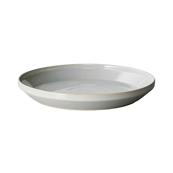 KINTO RIM PLATE 240MM EARTH GRAY