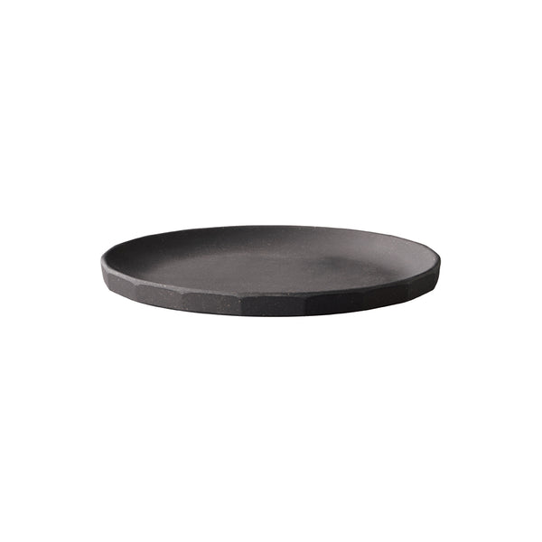 KINTO ALFRESCO PLATE 190MM BLACK