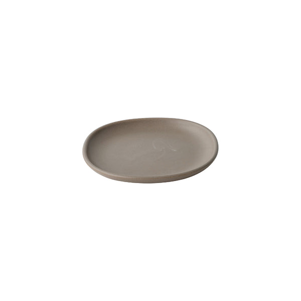 KINTO NEST SQUARE PLATE 165MM BROWN