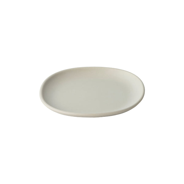 KINTO NEST SQUARE PLATE 210MM LIGHT GRAY